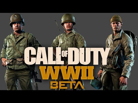 COD WW2 PC Open BETA Multiplayer Max Settings