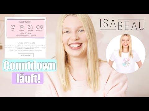 MEGA ANKÜNDIGUNG! | Mein Online Shop | Mit Euch zusammen!  | Isabeau