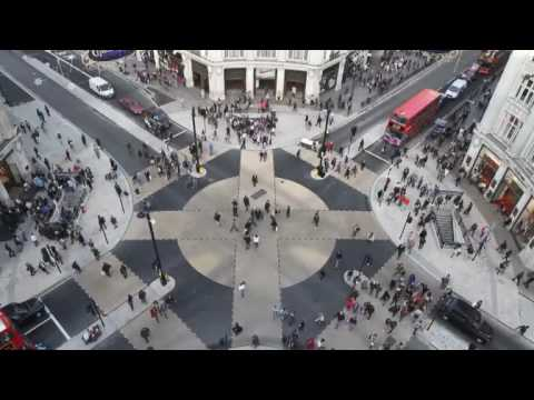 The new look of London's Oxford Circus