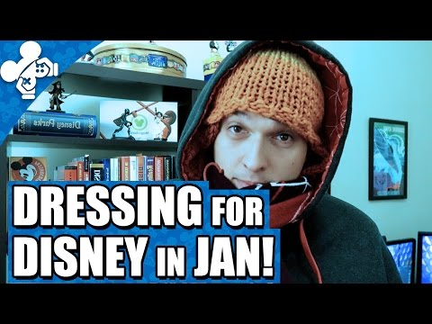 How To Dress For Disney World In January!