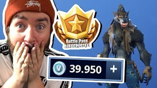 Fortnite SEASON 6 BATTLEPASS mit 40.000 VBUCKS öffnen!