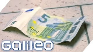Bist du ein Dieb? Darf man gefundenes Geld behalten? | Galileo | ProSieben