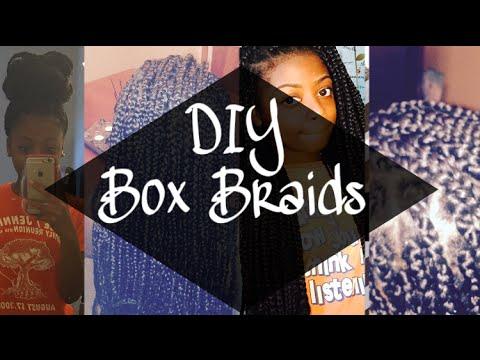Box Braids Hairstyles 2018 Medium Jumbo Bob
