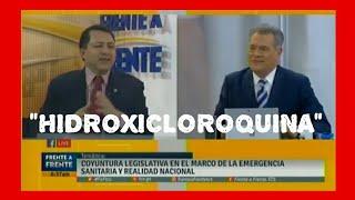 Presidente de la ASAMBLEA LEGISLATIVA no sabe pronunciar HIDROXICLOROQUINA / MARIO PONCE
