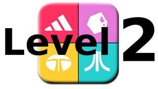 Logos Quiz Game - Level 2 - Walkthrough - All Answers