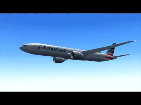 AA68 777-300ER AMERICAN AIRLINES LOS ANGELES - MIAMI