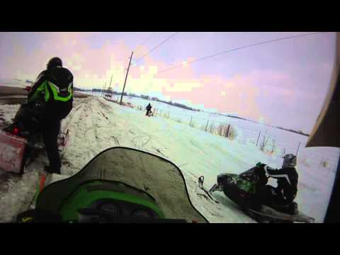 Snowmobiling in Iowa 2013