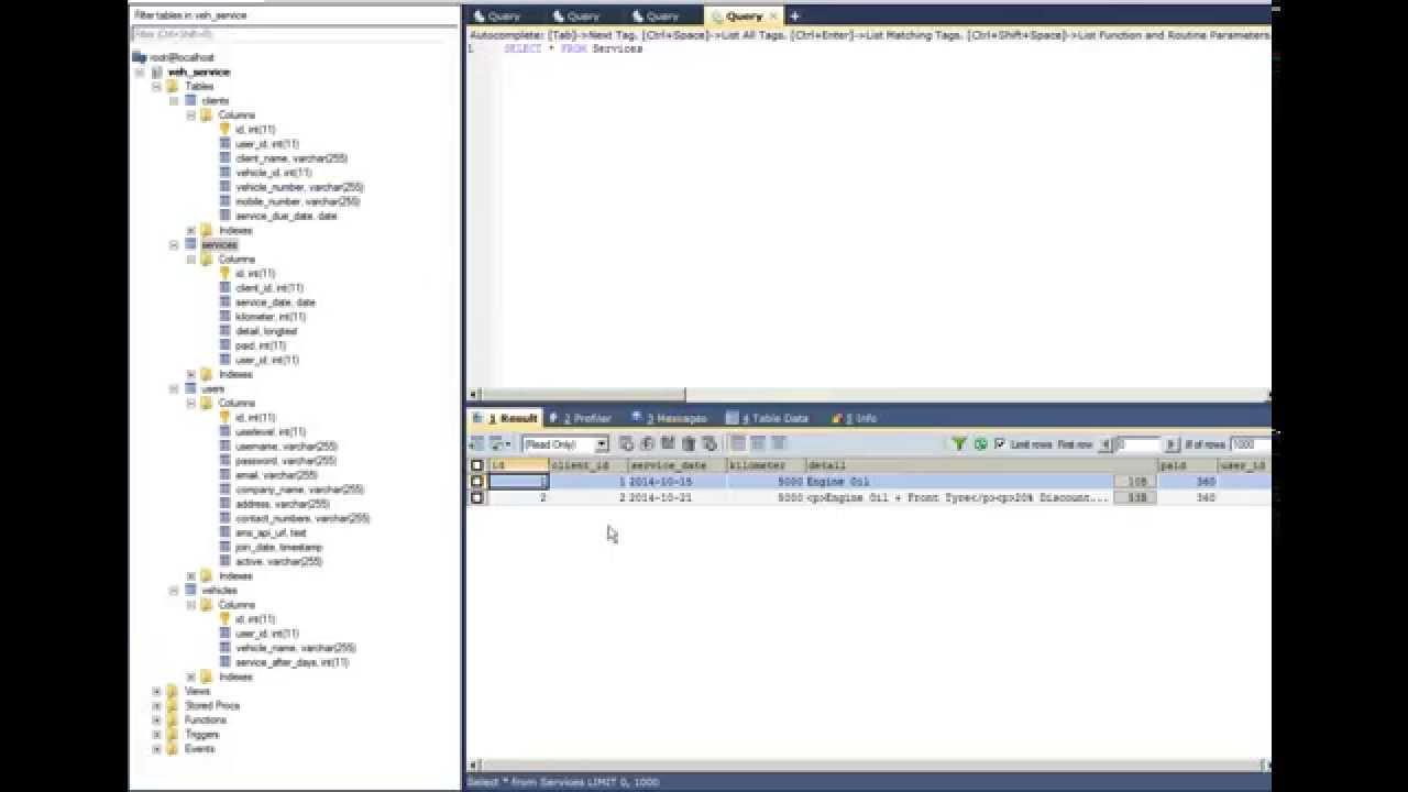 Selecting data from multiple tables mysql sql tutorial youtube gamestrikefo Gallery