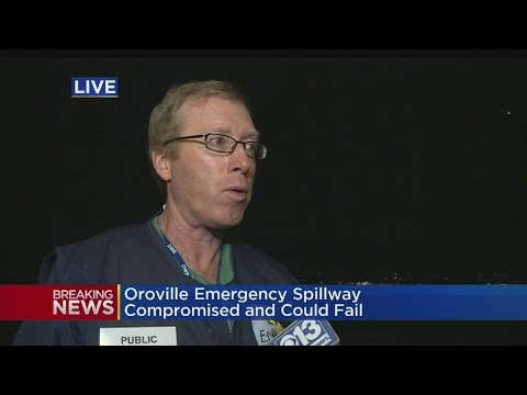 Department of Water Resources Update on Oroville Auxiliary Spillway Failure