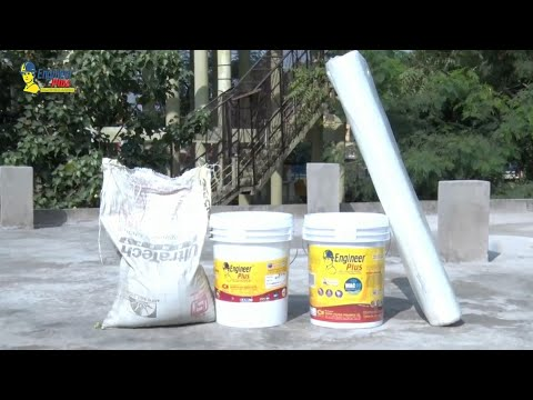 Best Waterproofing system for roof & terraces. call 9329577550