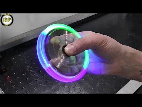 Thumbnail: LED Hand Spinner Fidget Toy - Fai da te - Life Hack