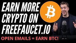 Another way to earn 💸 on FreeFaucet.io - Email Faucets 📧