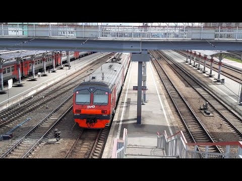 Отправление ЭД4МК-0025 со станции Новосибирск-Главный