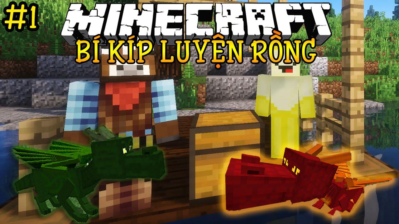 Oops Club Minecraft Bí Kíp Luyện Rồng – Tập 1: HAI CHÚ RỒNG ĐẦU TIÊN