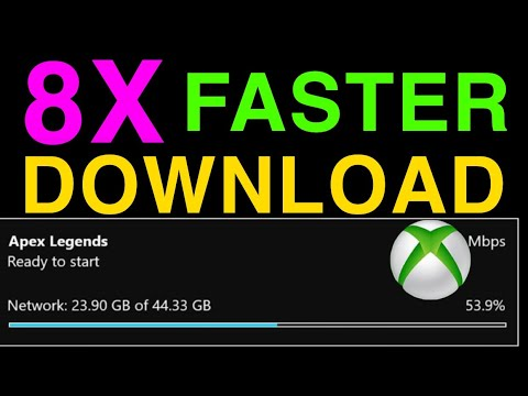 XBOX ONE HOW TO GET FASTER DOWNLOAD SPEED IN 2020