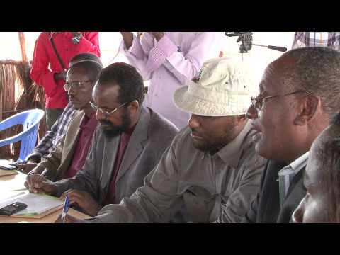 Aid agencies respond amid insecurity in Kismayo, southern Somalia.