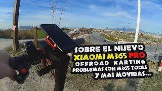 Xiaomi M365 PRO, offroad, karting, problémák con M365 Eszközök y mas movidas