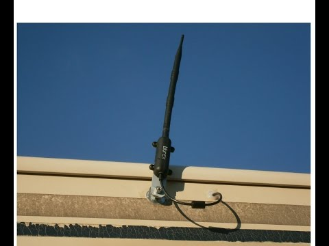 Installing Long Distance WiFi Antenna on RV