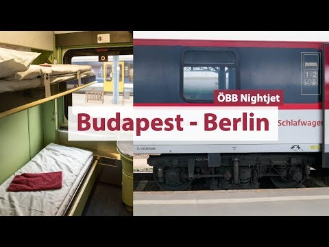 Overnight Train From Budapest To Berlin 🚆ÖBB Nightjet || Trip Report