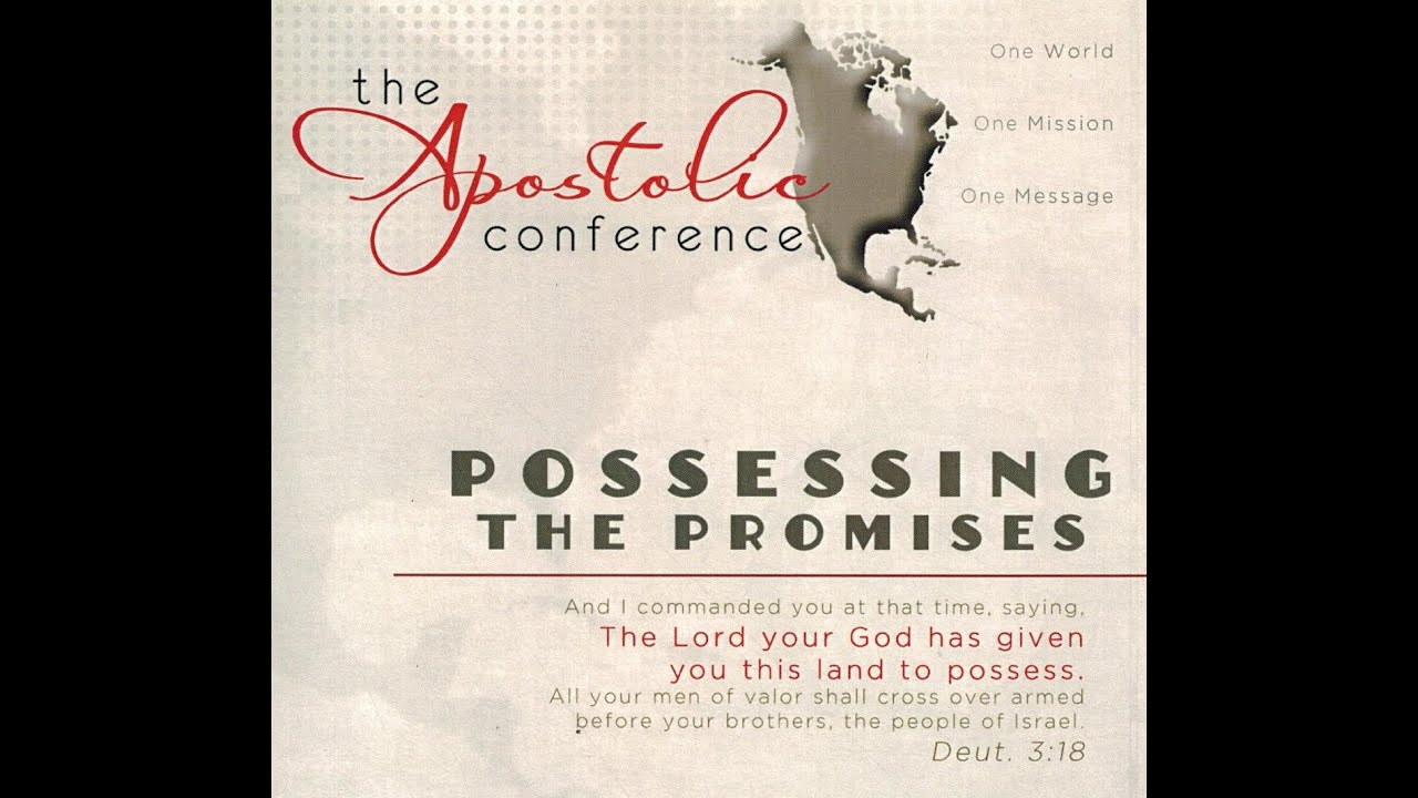 David Shatwell - The Good Part/ David Smith - Have Faith in God - The  Apostolic Conference 2012