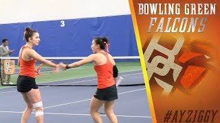 BG Tennis Highlights vs Akron 3.30