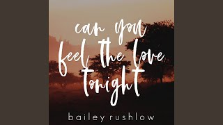 Can You Feel the Love Tonight (Acoustic)