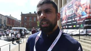 'THE KEY FACTOR WILL BE HOW KELL BROOK ADAPTS COMING FROM 160 BACK TO 147' - ARTHIF DANIEL
