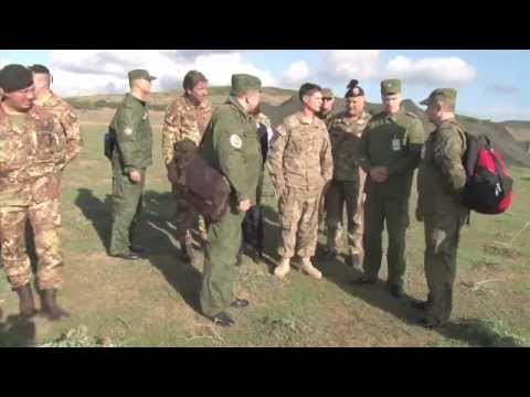 Russian Observers Visit NATO Trident Juncture Exercise