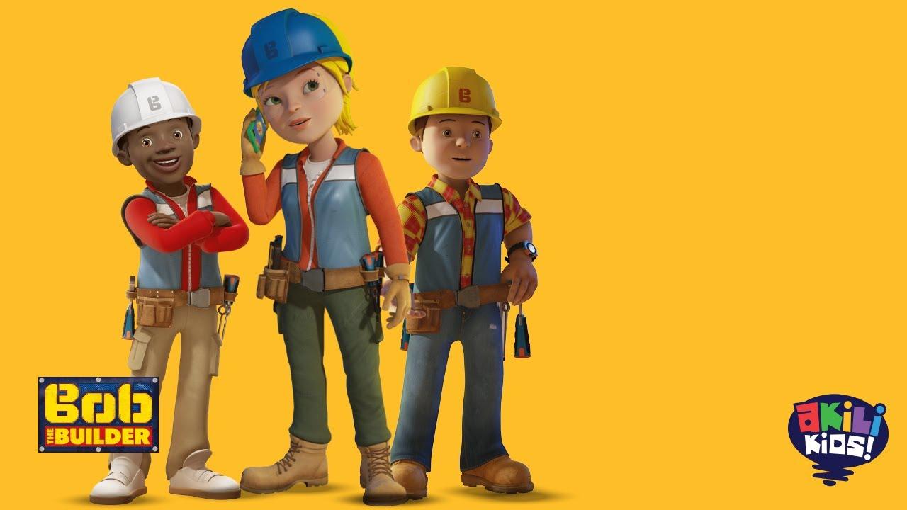 Download Bob The Builder | A Great Team | Akili Kids! TV