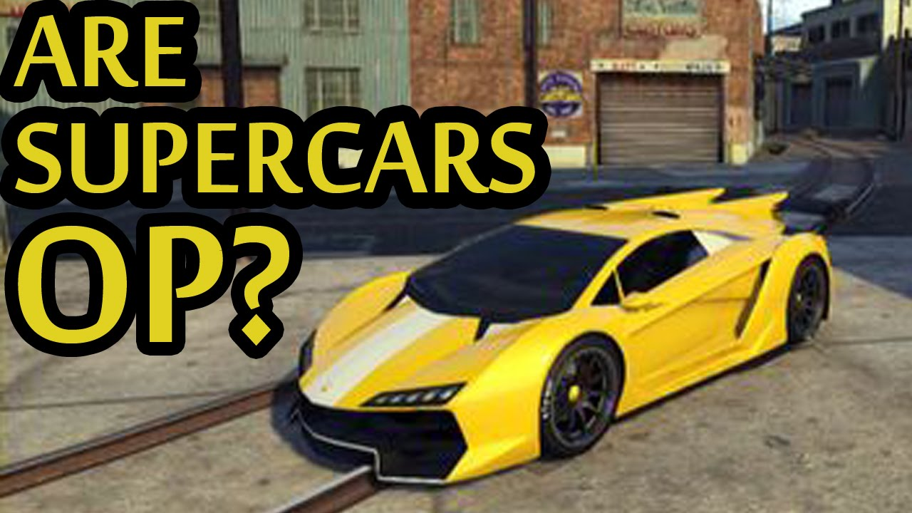 Gta Are Supercars Op Thoughts On Off Road Ability Of
