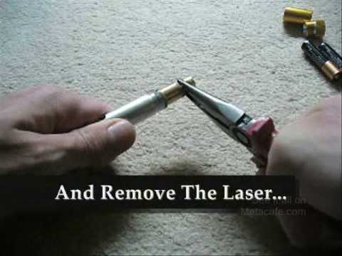 HOW TO TURN A 5MW LASER INTO A 100MW LASER