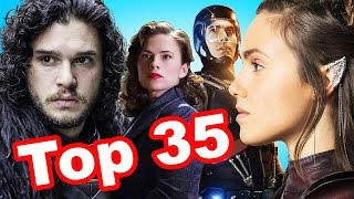 Top 35 Winter/ Spring 2016 TV Shows