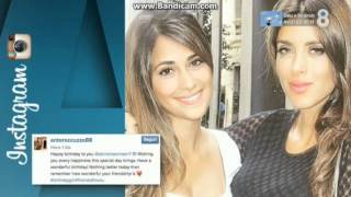 Fàbregas y Antonella felicitan a Daniella Semaan por su 39 cumpleaños