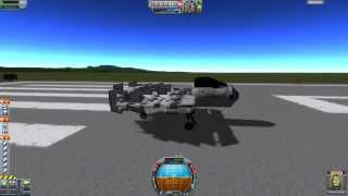 Kerbal Space Program (KSP) - KARSD Advanced commuter plane