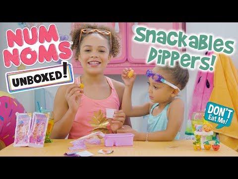 Unboxed! | Num Noms | Episode 8: Num Noms Snackables Dippers!
