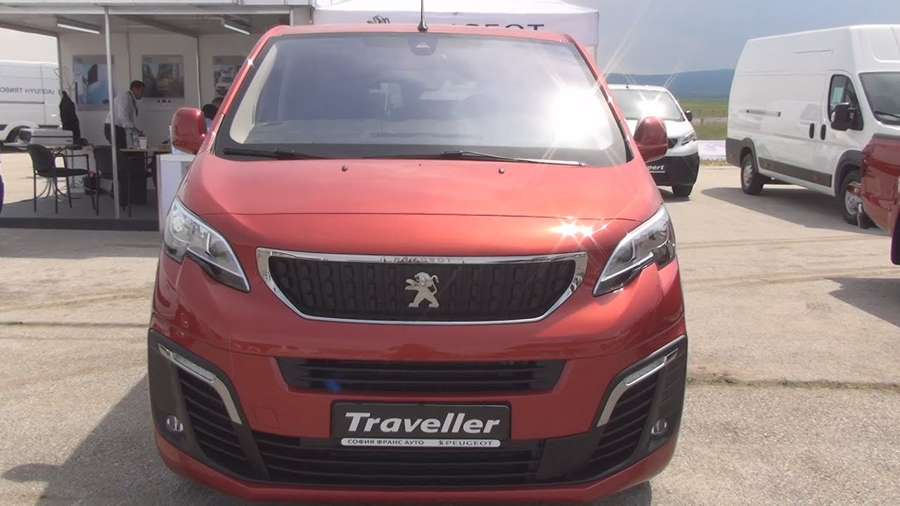 peugeot traveller active standart 1 6 bluehdi 115 s s 2017 exterior and interior in 3d youtube. Black Bedroom Furniture Sets. Home Design Ideas