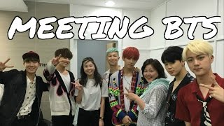 The Day I MET BTS (방탄소년단) at KBS!!! + Getting a signed album! [FULL STORY]