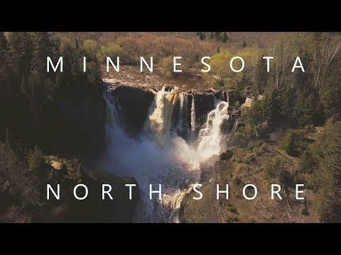 EPIC 4K VIDEO Minnesota North Shore Waterfalls DJI Mavic Pro Sony A6500 A7rII