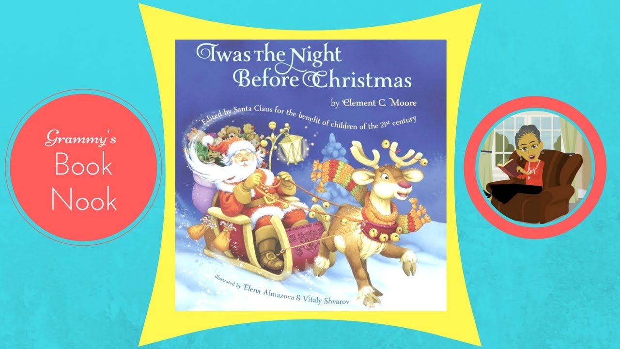 twas the night before christmas childrens books read aloud
