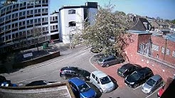 Look where you are going!!! Caught on Y-cam HD Pro Outdoor Camera