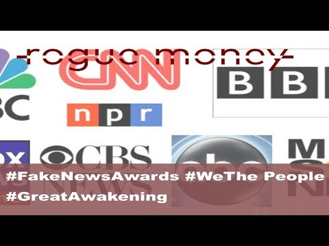 Rogue Mornings - #FakeNewsAwards #WeThePeople #GreatAwakening (01/17/18)