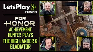 For Honor S3: Achievement Hunter Plays The Highlander & Gladiator | Let's Play Presents | Ubisoft