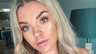 grwm glowy beachy makeup tutorial ♡ jasmine hand