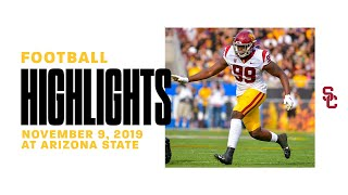 Football: USC 31, ASU 26 - Highlights 11/09/19