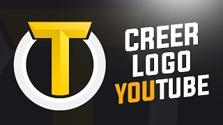 COMMENT CREER UN LOGO FACILEMENT AVEC PHOTOSHOP ? TUTO YOUTUBE FR