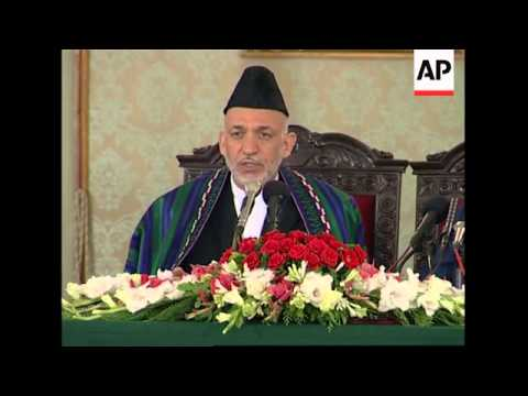 WRAP AP cover of Karzai comments on Afghan civilian deaths, US troops