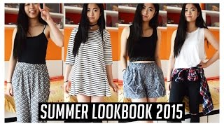 Summer Lookbook 2015 // 4 Summer Outfit Ideas For Cold & Warm Weather