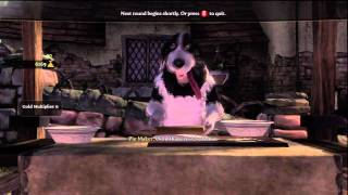 Fable III - Dog Makes Pie For 3 Minutes.