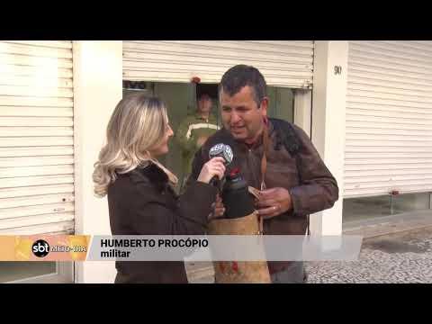 Moradores de Florianópolis buscam alternativas para se aquecer