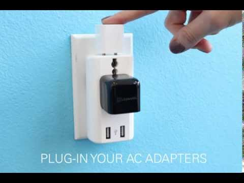 How To: Lenmar's World Travel Adapter
